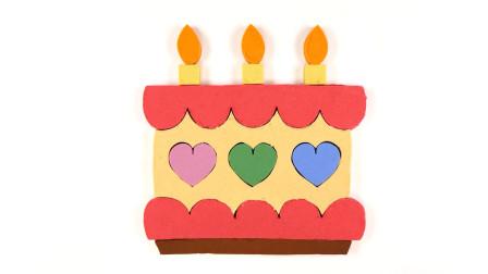 小黄人用彩泥手工制作生日蛋糕