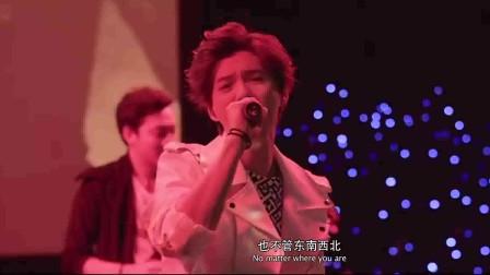 我是证人:杨幂参加鹿晗演唱会,悼念逝去的弟弟!