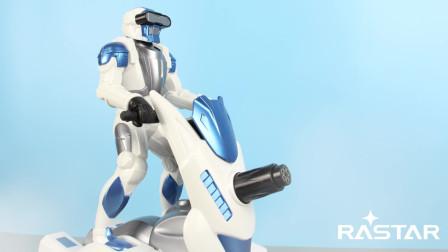 【定格模玩】星辉 太空2号电动玩具 定格动画展示