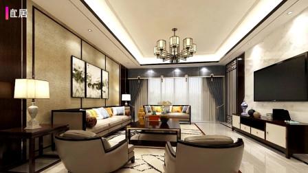 140㎡新中式新房,堪比样板房,这才是我们中国人的豪宅!