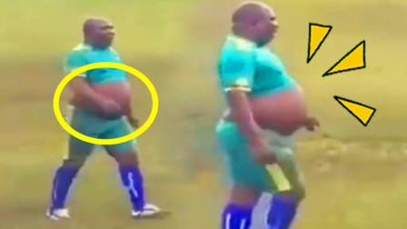 足球运动员的肚子堪比孕妇?!