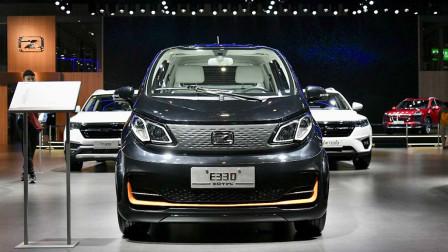 2019上海车展:众泰E330实车正式亮相
