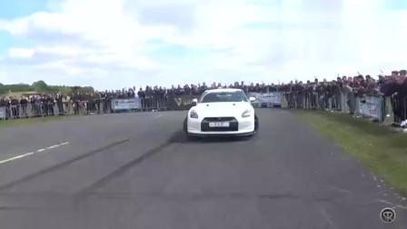 自取其辱!奔驰AMGGTSvs爆改日产GTRR35