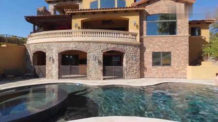 475万美金的拉斯维加斯豪华别墅,一看就是大户人家的房子