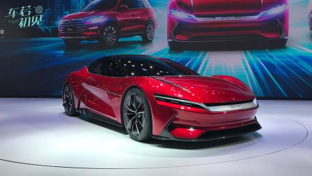 2019上海车展:龙脸升级 2.9秒破百 比亚迪E-SEED GT-车若初见