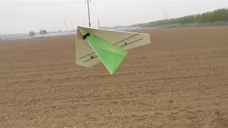 竞赛版比赛用遥控航模纸飞机飞行指导视频