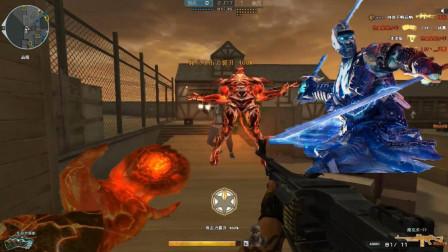 CF终结者2穿越火线:新终结者最强技能当场去世 蓝精灵猎手