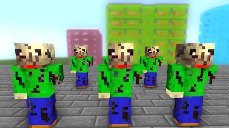 我的世界动画-怪物学院-巴迪末日-AppleSauceCraft