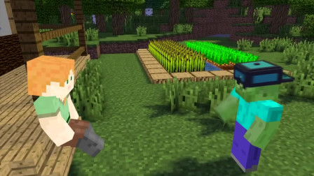 我的世界动画-怪物学院-爱丽克丝挑战-FULL Minecraft Animation