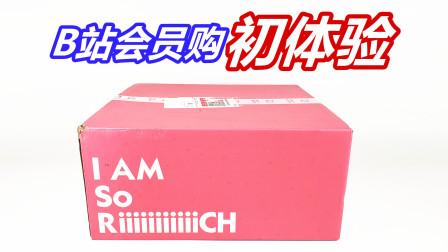 第一次在B站会员购买玩具,盒子居然这么可爱-刘哥模玩