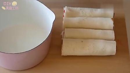 「烘焙教程」法国烤三文鱼吐司,加上草莓酱,绝啦!