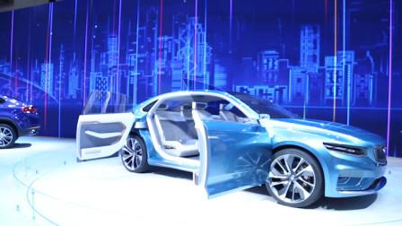 今后的车会造成什么样?上海车展吉利这款概念车告诉你答案