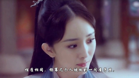 杨幂采访时意外打喷嚏,有谁注意她手部动作?网友:难怪她会红