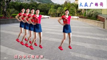 青春活力广场舞俏皮可爱跟着歌曲舞蹈动作简单好记好听又好看