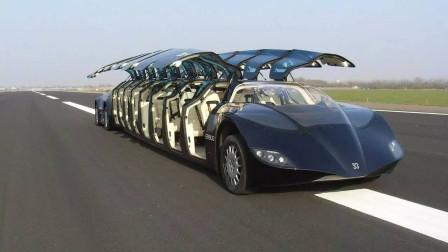迪拜土豪就是会玩,公交车都用超跑配置,时速可达255公里!