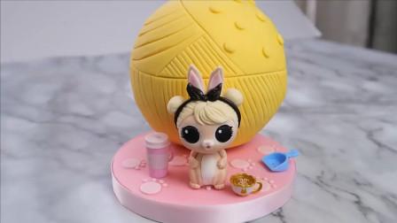 一款很火的游戏里的芭比娃娃蛋糕做好了,你知道她的名字吗