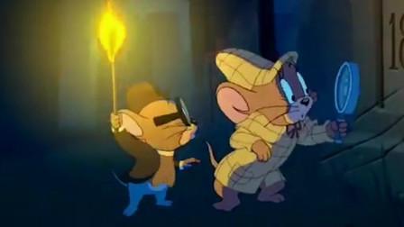 爆笑猫和老鼠:汤姆和杰瑞的寻宝之旅,最后却让黑衣人抢走了宝石