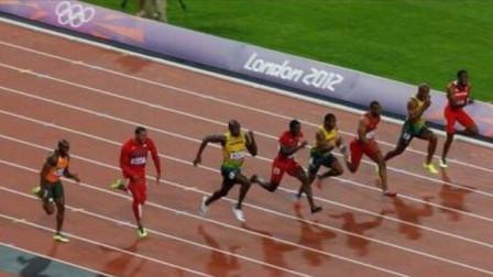 伦敦奥运会上百米决赛堪称最高水平对决,8人有7人跑进10秒以内
