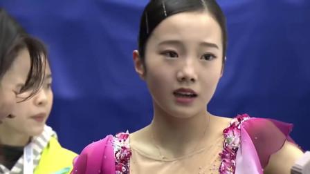 美仑美奂,日本最美花样滑冰女运动员本田真凛的冰之魂舞,令人享受