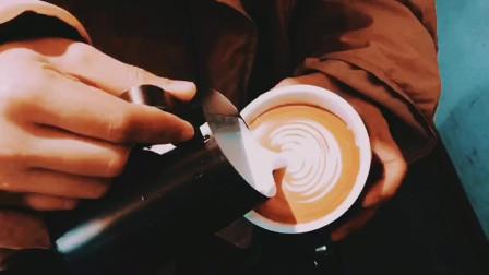超值的一次拔草❤️学爱心咖啡拉花