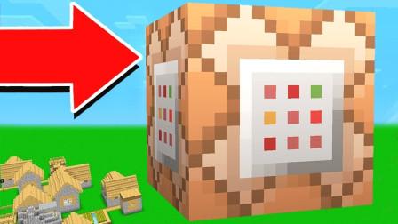我的世界最大的命令方块!能否召唤巨型僵尸?