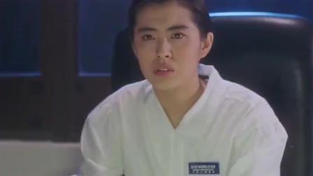 天地玄门王祖贤把电视打开, 差点把林正英吓上天