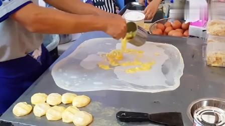 手抓饼已是过去式,取而代之是这个小吃,光看做法就很想尝尝!