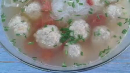 简单易做的参汤丸子,满满的鲜香嫩滑,好吃又美味