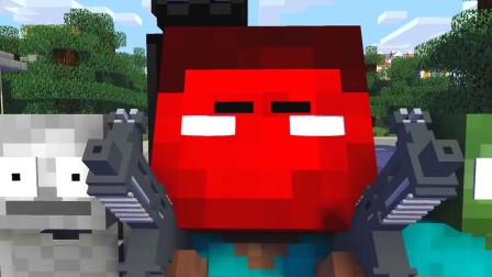 我的世界动画-怪物学院-外星人来了-MineCZ