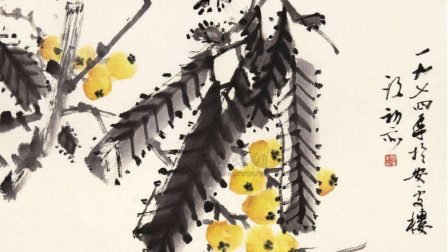 中国画独有的韵味! 只用简单几笔画出的琵琶, 就已经让人流口水了