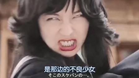 日本女演员非常敬业,变脸速度只需一秒!