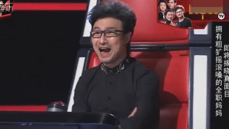 连汪峰都不敢相信了,农村60岁大爷唱他的歌,竟把他自己都超越了