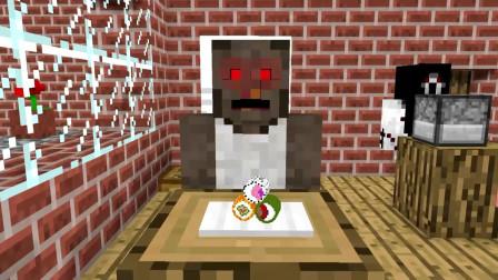 我的世界动画-怪物幼儿园-厨艺挑战-MoshiMoshieCraft