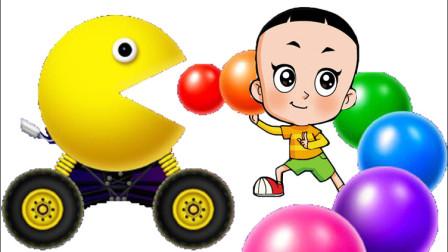 小猪佩奇和大头儿子爬梯玩具