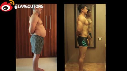【阿米爾·汗變型記】印度良心演員阿米爾·汗,為了電影《Dangal》,先增肥再減脂,在5個月內從胖子變身型男!