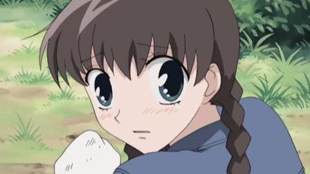 水果篮子:本田透走在树林里,不料眼前有白色的东西!
