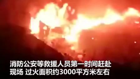 大连一化工厂突发爆燃事故,瞬间拍下爆炸画面:火焰窜起几十米高