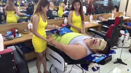 这家按摩店火了,200泰铢享受越南美女一条龙