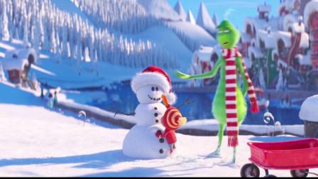 电影:《绿毛怪格林奇》,孤独的绿毛怪的圣诞故事