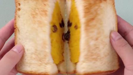 简单美味!南瓜葡萄干三明治