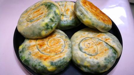 这才是韭菜饼的正确做法,1个独家小秘诀,个个薄皮馅大不露馅