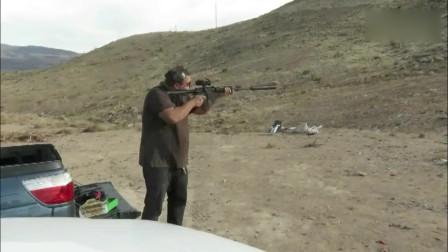 50口径的奇葩步枪贝奥武夫自动步枪,遇上消音器后,照样得怂