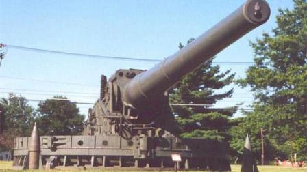 希特勒的超级大炮:一发炮弹重7吨,后坐力可掀翻一座楼!