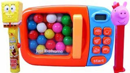 彩虹果肉球魔力变奇趣玩具?魔法微波炉创意新玩法视频教程送给你
