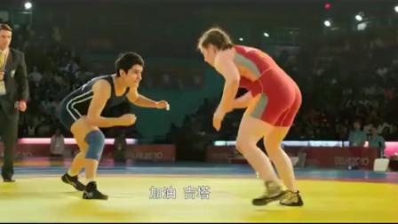 摔跤吧!爸爸:女子参加世界摔跤大赛,想起当时爸爸的话