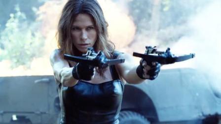 终极标靶再战丛林,机车女凶狠追杀,十字弩丛林猎杀,残暴过瘾!