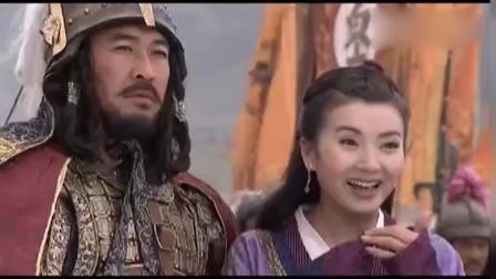 天龙八部:乔峰大战辽国80万叛军,降龙十八掌威力够强悍的,真过瘾