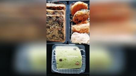 鲍师傅肉松全家福紫菜肉松蛋糕抹茶蛋糕卷
