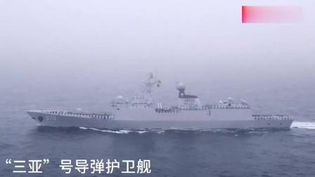 海上大阅兵现场高清大图来了!比直播看得更清楚、更过瘾! 人民海军70年