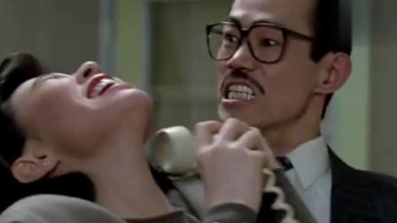 飞龙猛将:元彪真狠心啊,这样对待美女,她都快疼哭了